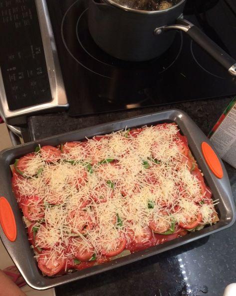 Veggie Lasagna 5